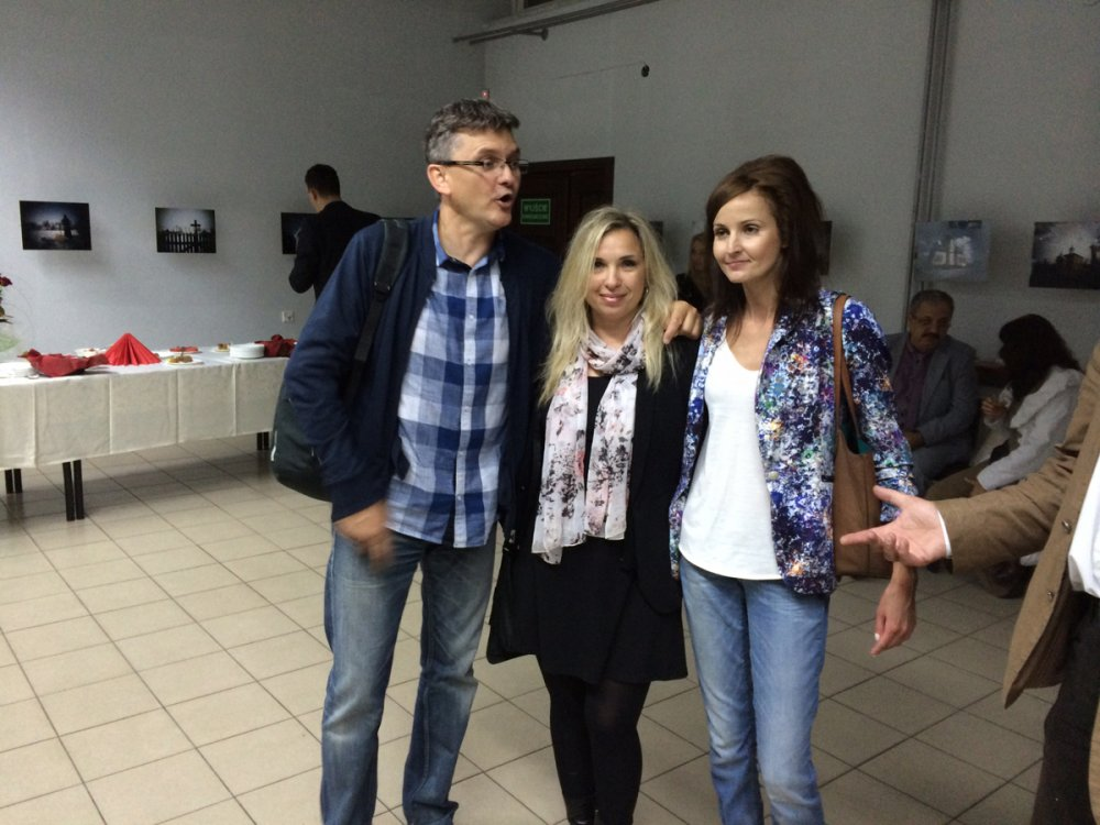 Andrzej Korycki, Dominika Zukowska, Julia Vikman - I Miedzynarodowy Festiwal im. Bulata Okudzawy w Hajnowce -